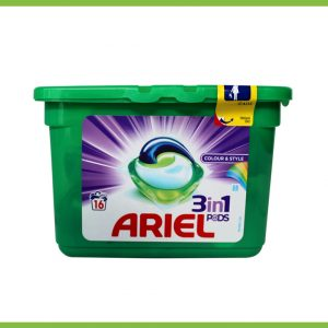 Ariel 3in1-16 colour&style